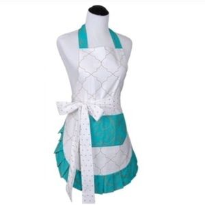 Other - Teal Moroccan apron